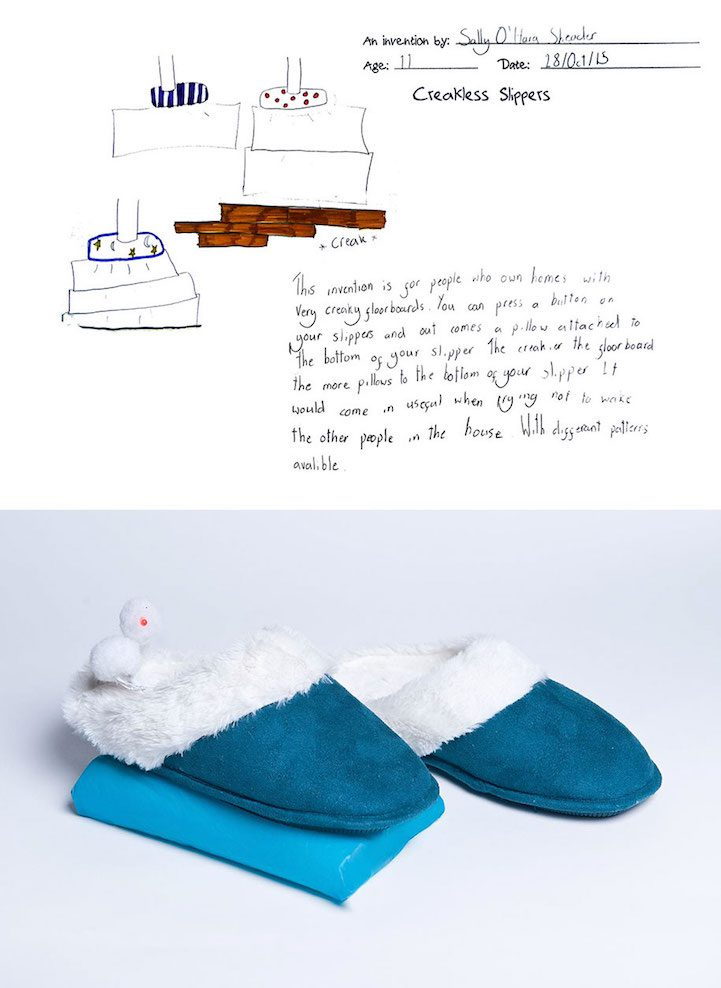Actual inventions from kids creative drawings decor advisor for Bathroom ideas kid inventions