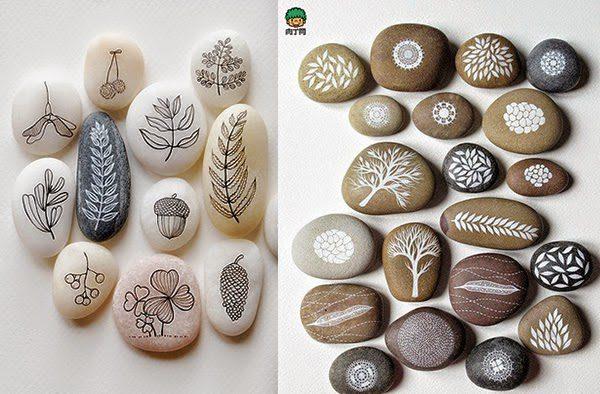 DIY Owl Stone Painting - iCreatived