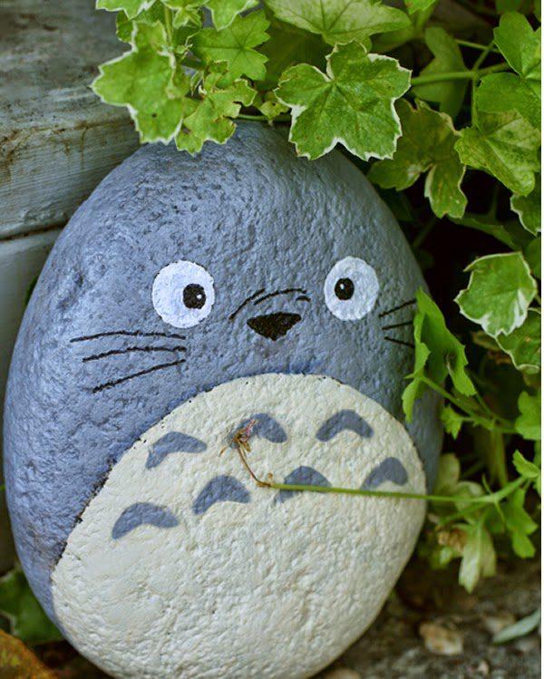 Diy owl stone painting icreatived - Unas modelos para pintar ...