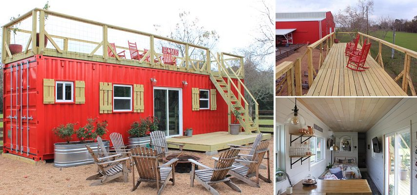 The Perfectly Designed Tiny Home In The Shipping Container Icreatived