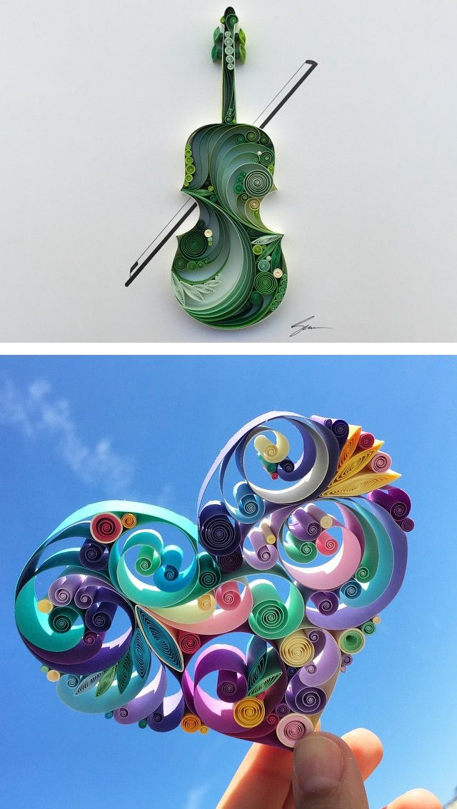 Amazing 3D Quilled Paper Art