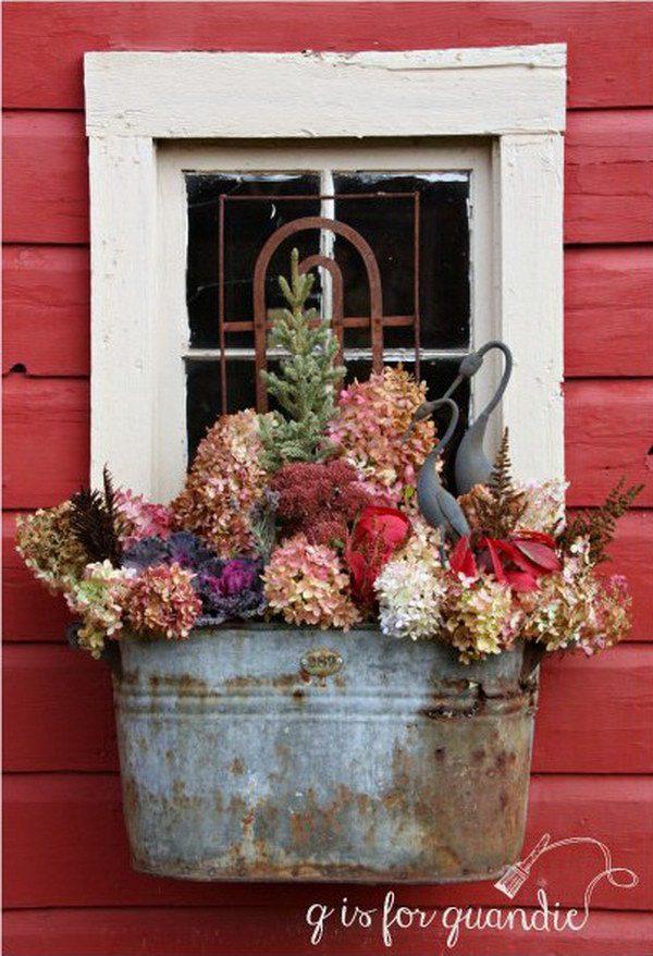 Window Box Planter Ideas: 20 Creative Window Box Ideas