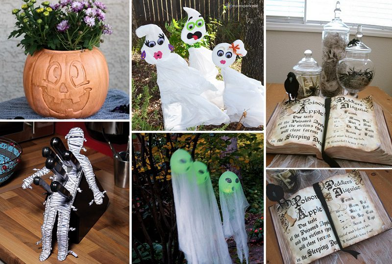 25 Easy To Make Halloween Decorations Icreatived