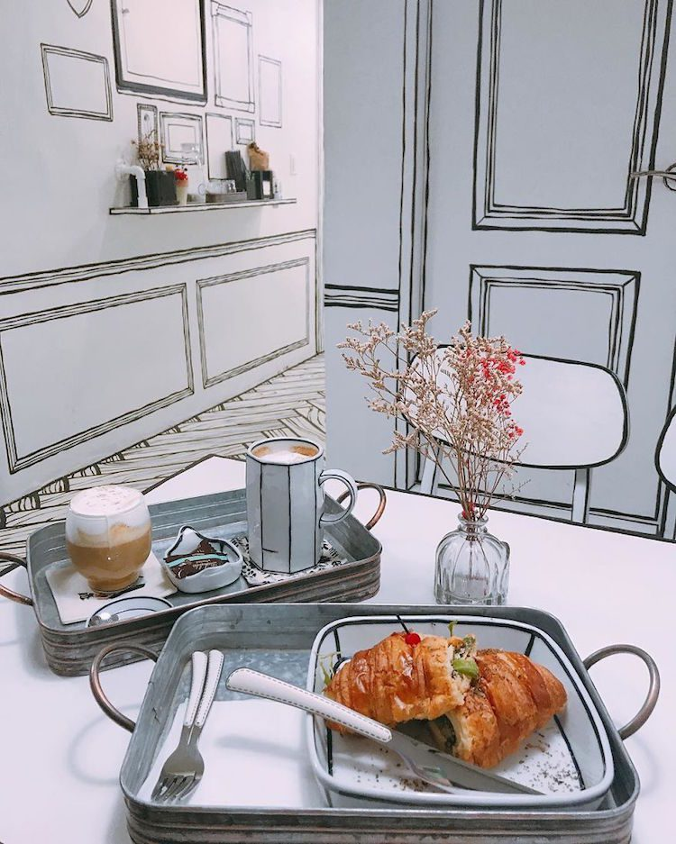 This Korean Cafe Makes Visitors Feel Like They've Stepped Into a Cartoon