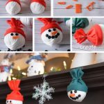 10. Adorable Snowman Heads For Christmas Decorations