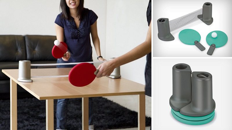Pongo – Portable Ping Pong, ALL DAY LONG!