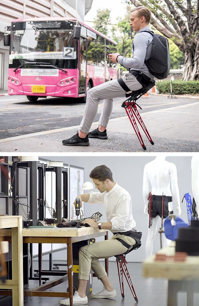 The Lex An Instant Bionic Chair Anywhere Icreatived