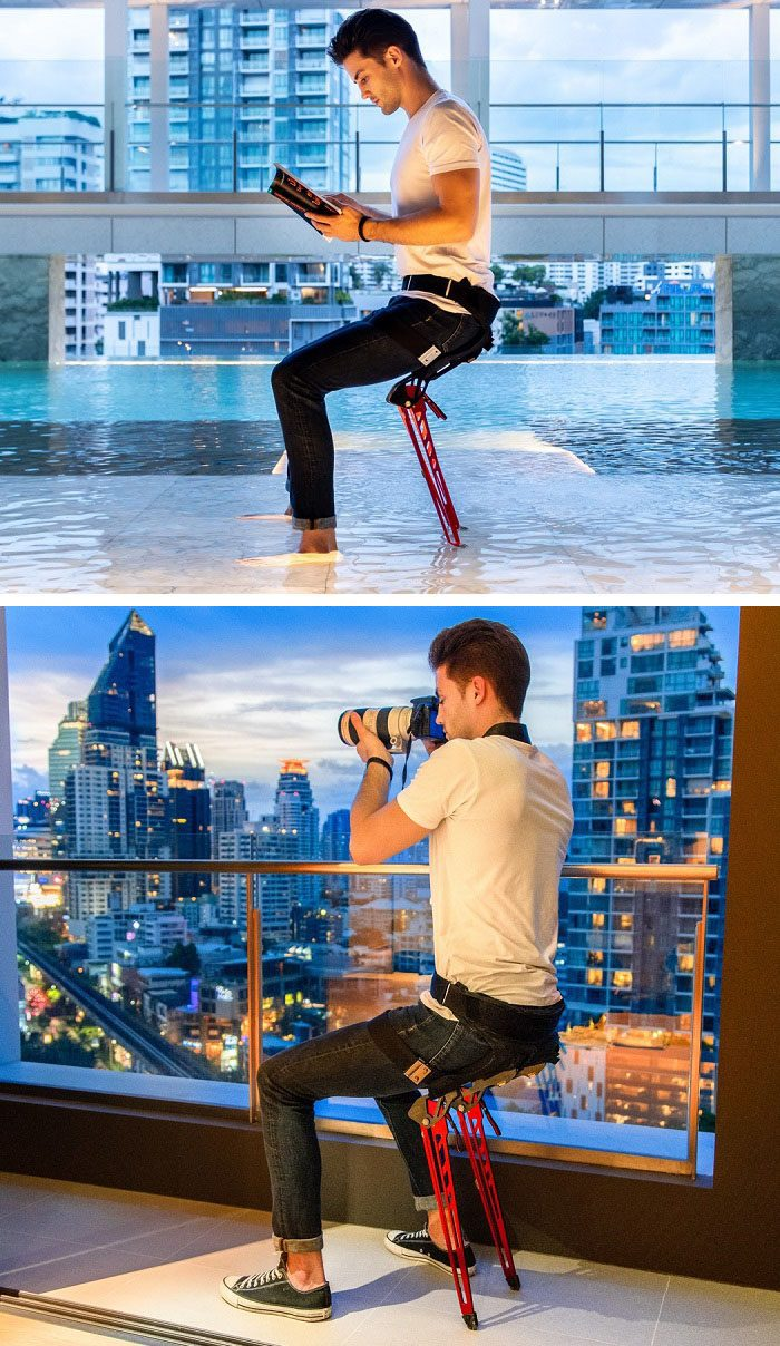 THE LEX: An Instant Bionic Chair Anywhere!