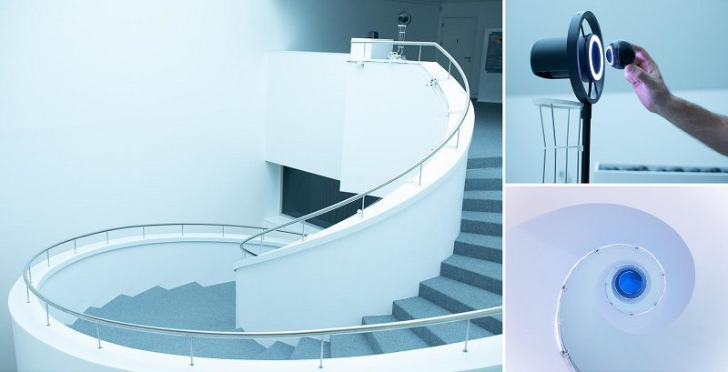 Voice Transforming Staircases