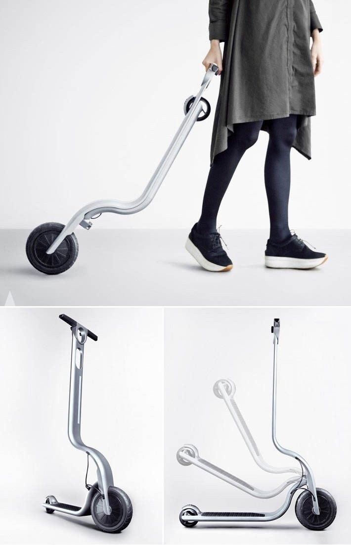 Eagle Electric kick scooter by Ignas Survila