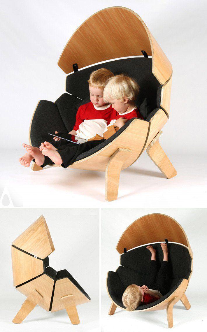 Hideaway Chair Children's Chair byThink & Shift
