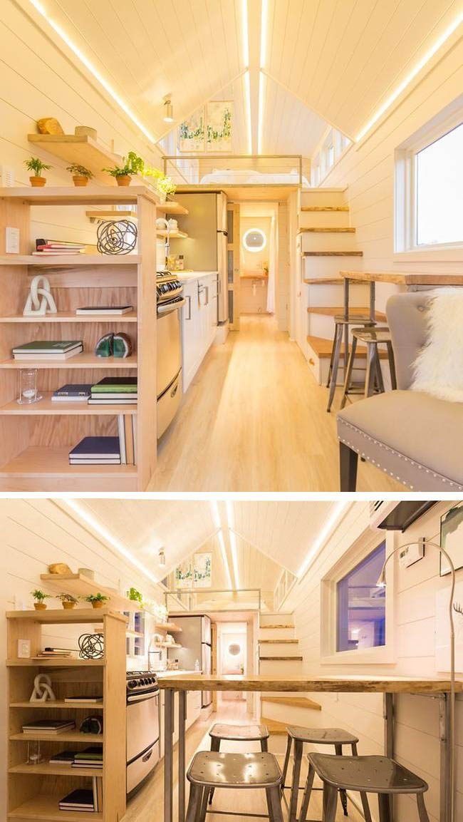 Amazing Dream Tiny House Integrated With Greenhouse