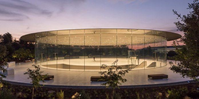 Futuristic Steve Jobs Theater