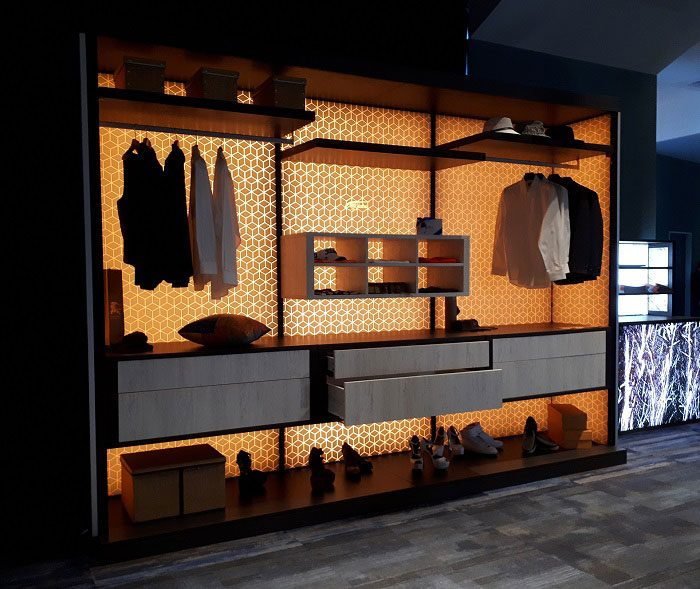 All-in-one Wall Display System Product Design