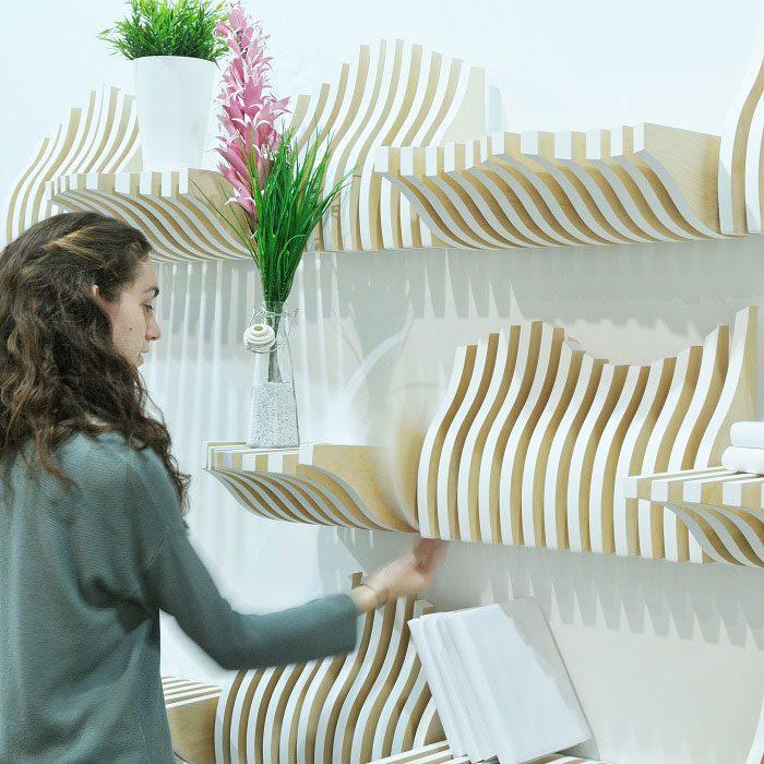 Kollen Multifunctional shelf byKollen Design Team