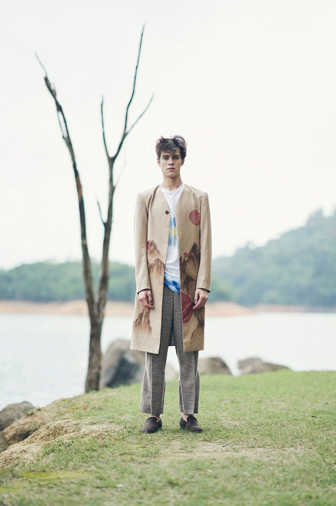 Wanderlust In Wilderness Menswear Collection byCelia Ng