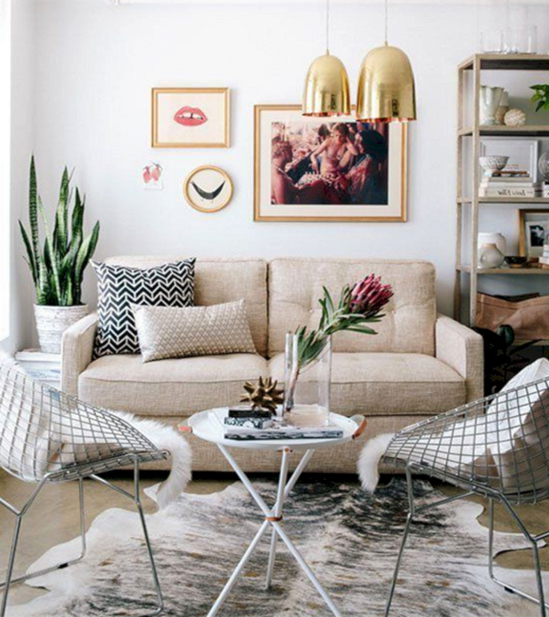 Decoration Examples For Small Living Rooms | iCreatived