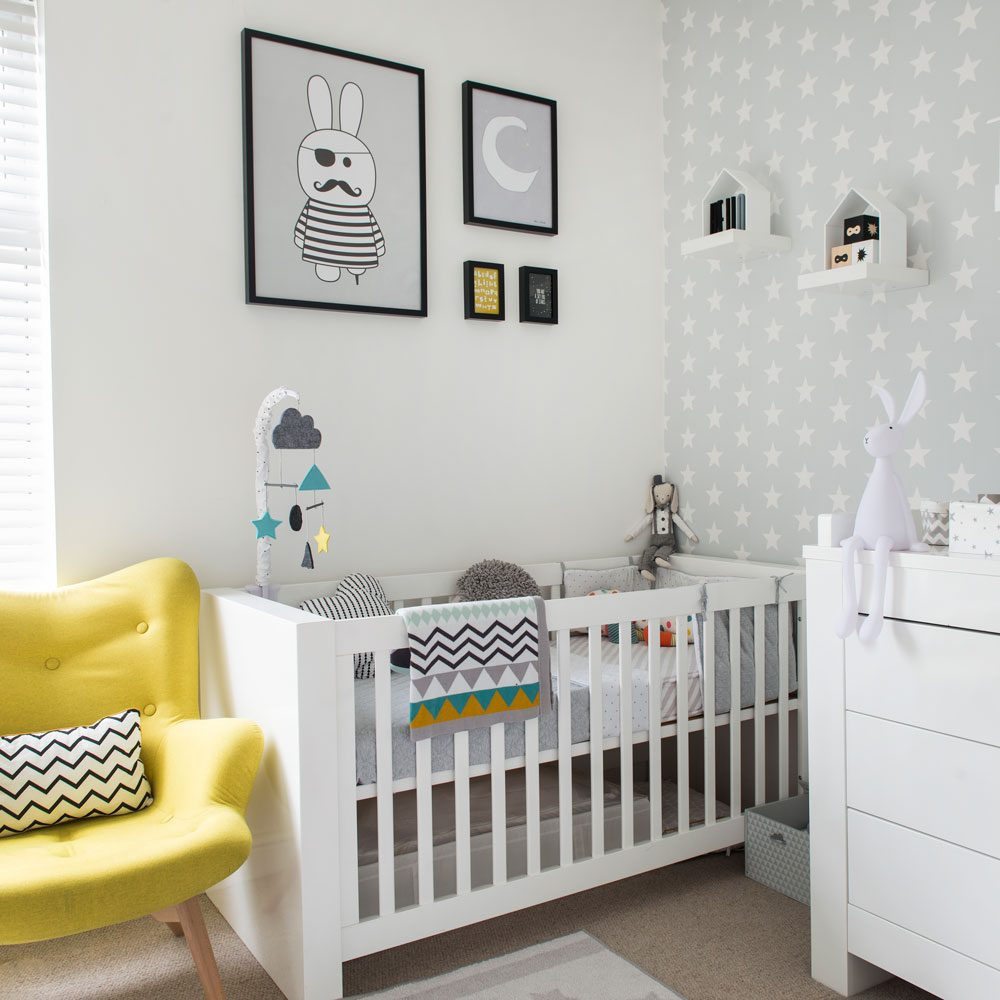 Decoration Ideas For The Nursery | iCreatived