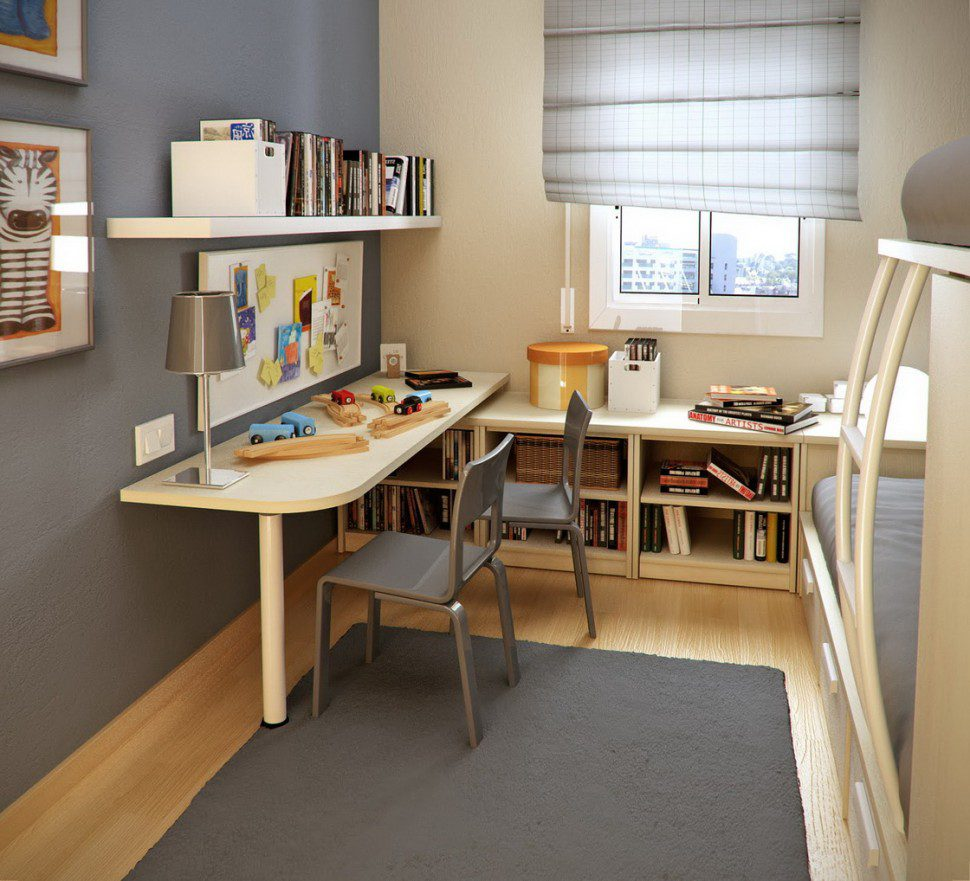 Decorations for small study rooms