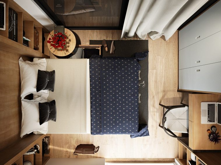 how to decorate a small sized bedroom icreatived