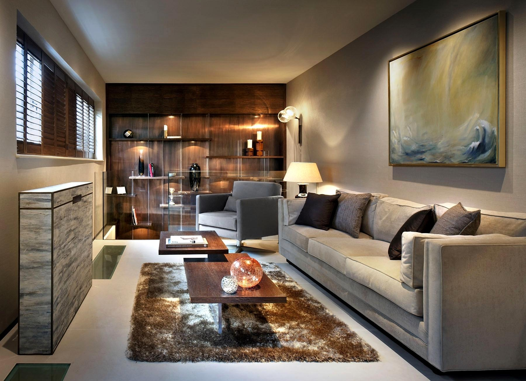 Rectangular Living Room Decoration Icreatived